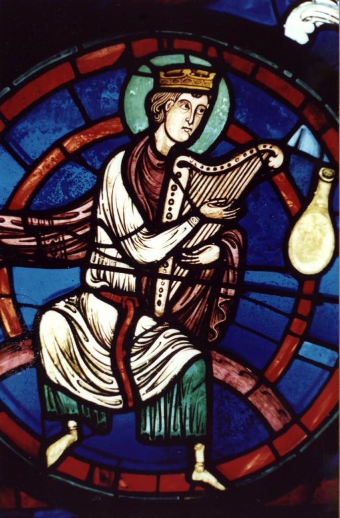No. 22 Une des 4 Harpes, Rose Orientale de l'Apocalypse (env. 1214/1220)