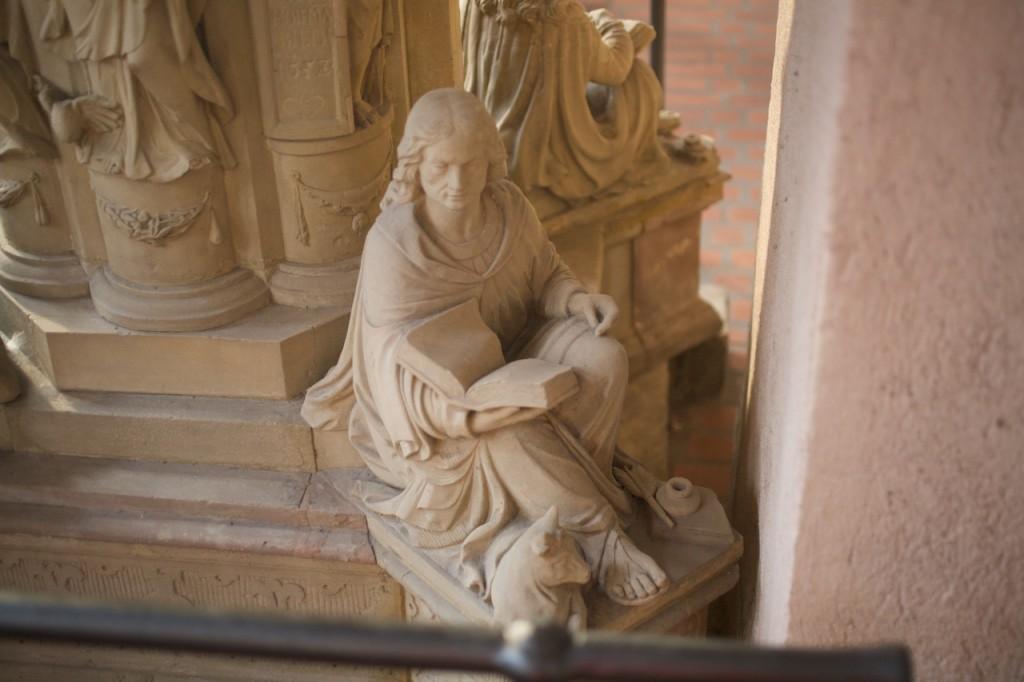 Trier, Dom | Evangelist Lucas
