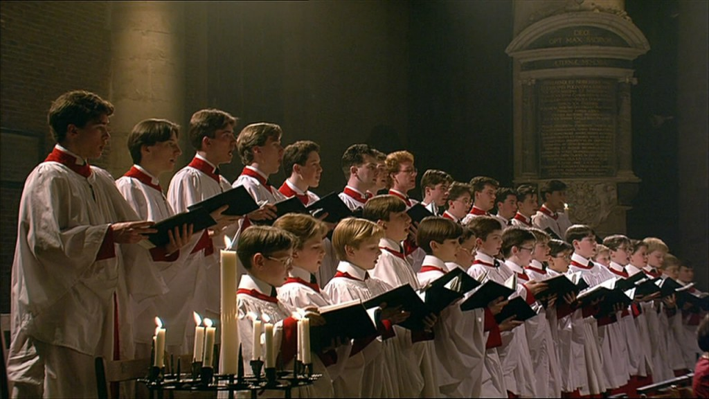 King's College Choir uit Cambridge - Pieterskerk Leiden, 1993