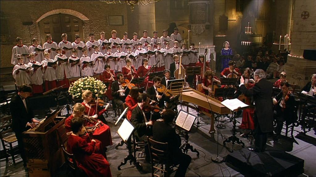 Brandenburg Consort en King's College Choir en Lynne Dawson - Pieterskerk Leiden, 1993