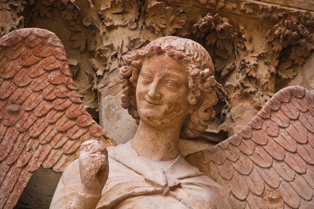 Reims, Ange au sourire