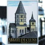 André Pelgrim, zeven kleuren houtsnede Cluny