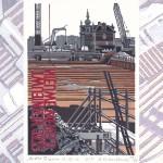 Stadvernieuwing - Nieuwe wereld, Eindejaarsgrafiek 2012 van André Pelgrim