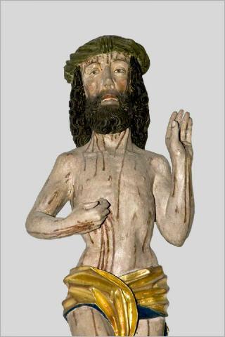 De in zijn lijden opgestane Christus; Kloosterkerk, Denkendorf