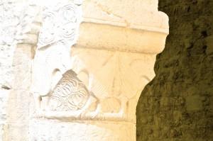 Cruas, L'ancienne église abbatiale ( XI – XIIème siècle)