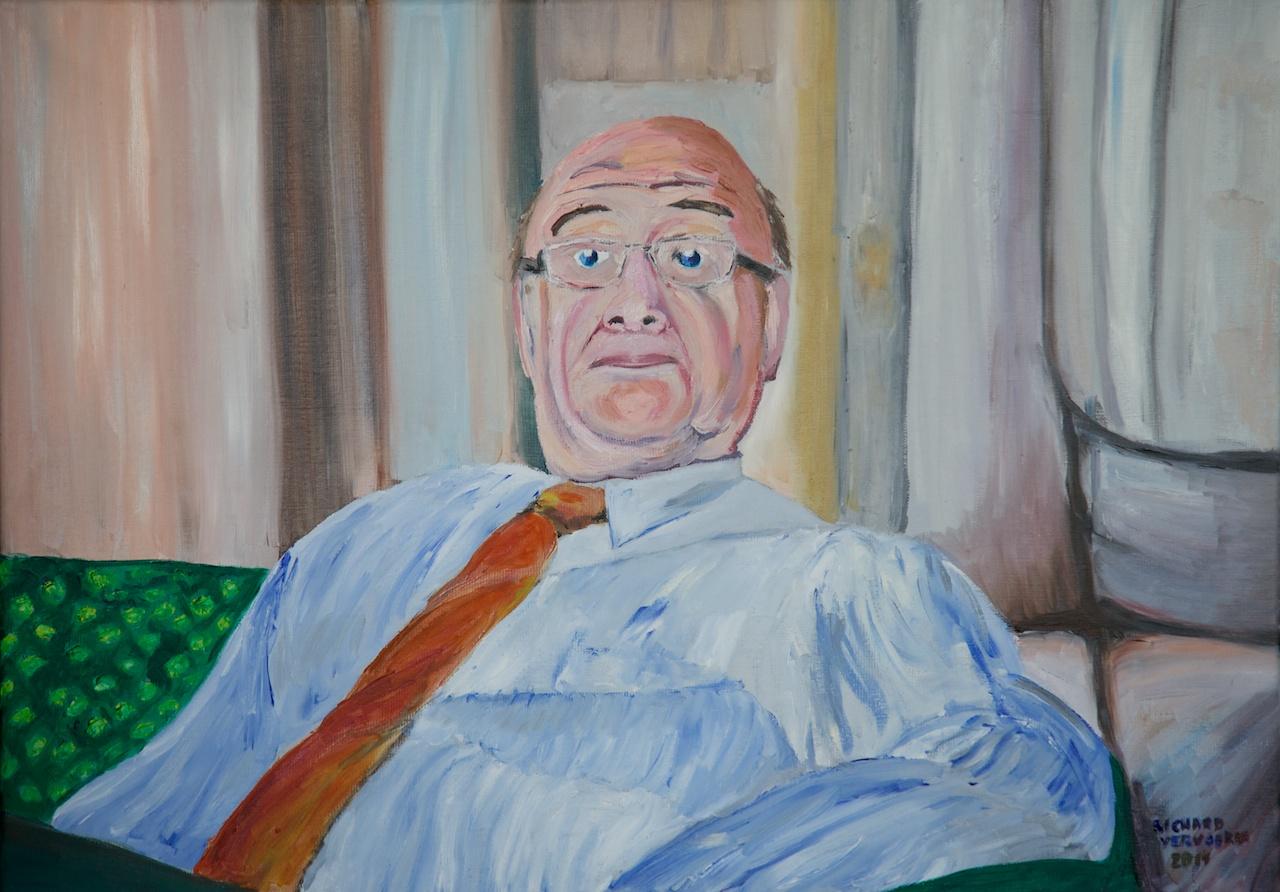Portret van Hans van de Poel