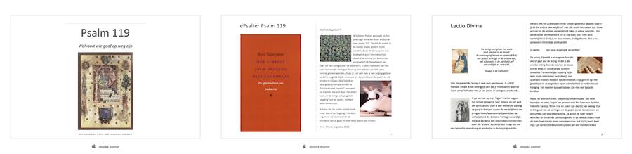 Kees Waaijman over psalm 119 + Vieringen voor thuis